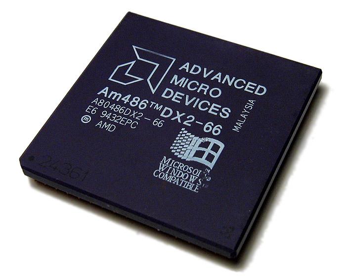 AMD 486DX2-66 - haut
